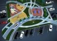 Хрустальный парк - Финский квартал-2: Макет Финского квартала в микрорайоне «Хрустальный парк»
