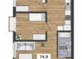 ФРАНЦУЗСКИЙ КВАРТАЛ, дом 51: 4-комнатная 2-3 этаж