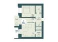 SCANDIS OZERO (Скандис Озеро), д. 1: 2-комнатная 58,6 кв.м