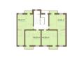 Академгородок, дом 1, корп 1: Корпус 1. Подъезд 5. Планировка типового этажа