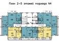 Жилой комплекс Иннокентьевский, 3 мкр, дом 3: 4 подъезд, 2-5 этажи