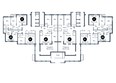 Жилой комплекс ПРОСВЕЩЕНИЕ: Планировка 1 этажа