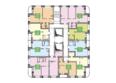 На Тополевой, дом 2: Поэтажный план ЖК на Тополевой