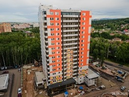Продается 1-комнатная квартира ЛЕСНОЙ МАССИВ, дом 1.3, 44.8  м², 3494000 рублей