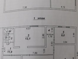 Дом, 142.5  м², 2 этажа, участок 9 сот.
