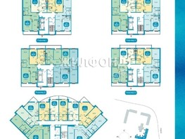 3-комнатная квартира, 66.8  м², 1/17 этаж