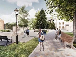 Мнения томичей по проектам благоустройства парков и скверов собирают дистанционно