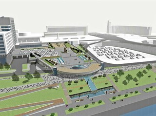 Новое видение Театральной площади должны предложить архитекторы
