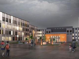 Новую школу в Академгородке на 1100 мест построят за полтора года