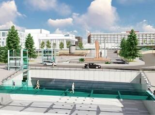 Администрация заказывает проект подземного перехода у Театральной площади