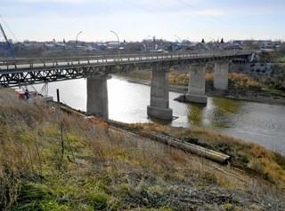 Новый мост через Омь построят в Калачинске на месте аварийного