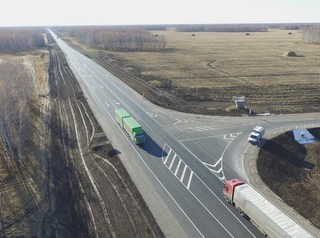 Капитальный ремонт федеральных трасс в этом году начался раньше обычного