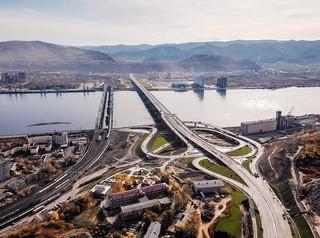 В Красноярске началось благоустройство Николаевского проспекта