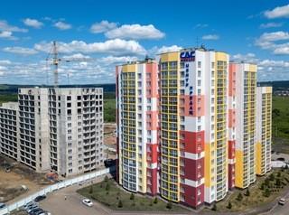 Объемы строительства жилья в Кемеровской области упали на треть