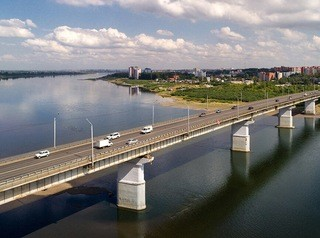 Завершается подготовка к капитальному ремонту Коммунального моста в Томске