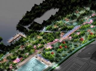 Концепцию благоустройства парка «Прибрежный» представили в Омске