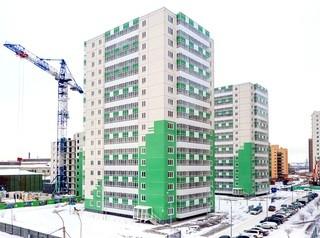 На полгода раньше срока сдается в эксплуатацию первая очередь жилого комплекса «Апрелевка»