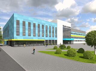 Спорткомплекс с бассейном в Междуреченске будет готов в мае 2021 года