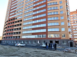 Для достройки проблемного дома на проспекте Ленина, 195а, не хватает 10 миллионов рублей
