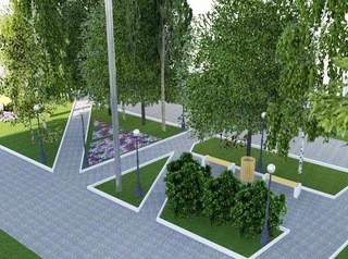 Современная пешеходная зона появится на улице Лазо в Томске к августу