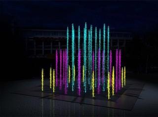Светодинамический фонтан за шесть миллионов рублей появится на центральной площади Калачинска