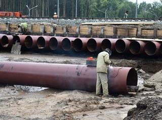 На развязке с железной дорогой Тайга – Томск сооружают тоннель под путями