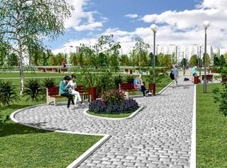 Новый парк на Московке-2 откроют 1 сентября