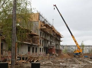 В ЖК «Эволюция» идёт строительство домов для расселения ветхого фонда