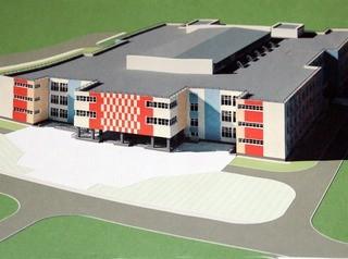 В Бийске строят школу на 550 учеников