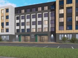 Завершается строительство комплекса жилых апартаментов «Сады» в Октябрьском районе