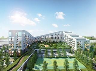 Концептуальный жилой комплекс строят по проекту европейских архитекторов возле Михайловской рощи