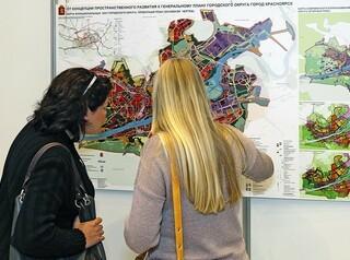 В Красноярске меняют проект планировки улично-дорожной сети и территорий общественного пользования