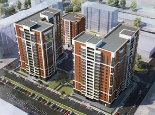 На улице Крупской строят новый дом ЖК «Дружба»