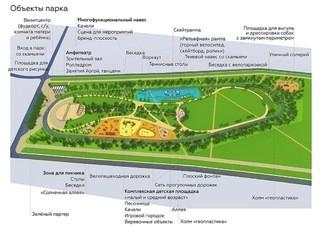 Разработана концепция нового парка в Солнечном