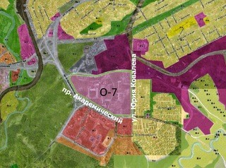 Для запрета строительства жилья в томском Академгородке введут новую территориальную зону