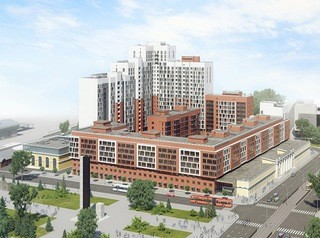 Построить продолжение жилого комплекса у вокзала в Барнауле не разрешили мэрия и суд