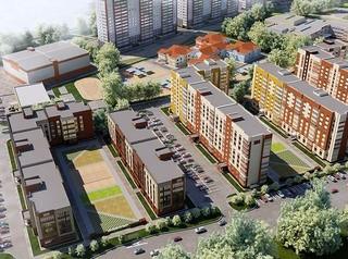 Началось строительство двух новых домов в ЖК «Дружный-3»