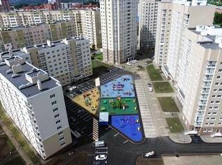 Дворовая спортплощадка «Серебряного бора» — одна из лучших в России