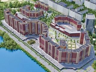 Самый длинный дом в Сибири строится в Новосибирске