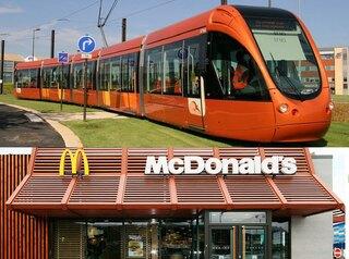 Вместо линии скоростного трамвая построят очередной «Макдональдс»