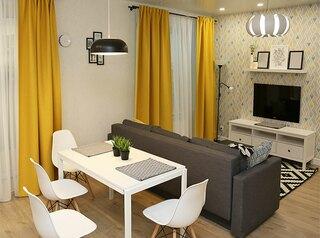 В Красноярске растет средняя площадь квартир и количество новостроек комфорт-класса