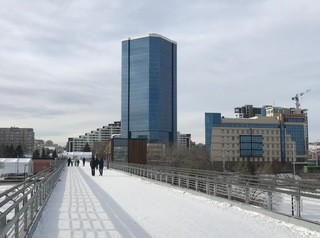 Недостроенный бизнес-центр в Красноярске выставлен на продажу