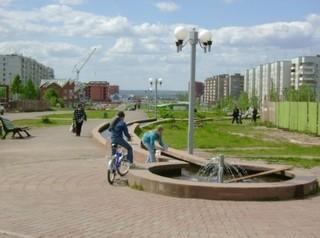 В Братске появится новая пешеходная зона с акцентом на союз природы и человека