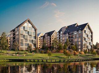 Стартовали продажи квартир в двух первых домах эко-квартала «Akadem Klubb»