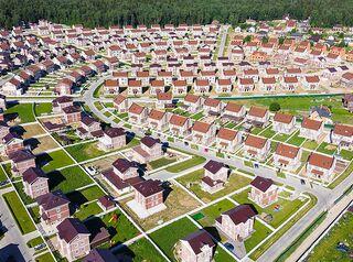 Крупные застройщики могут выйти на рынок индивидуального строительства