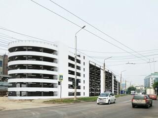 Многоуровневый паркинг на 807 мест на Маерчака сдадут уже в ноябре