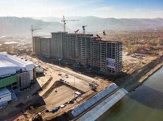 С начала 2017 года в Красноярске началось строительство 46 многоквартирных домов