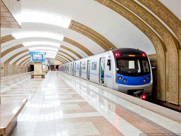 Станция метро «Райымбек батыра» Алматы