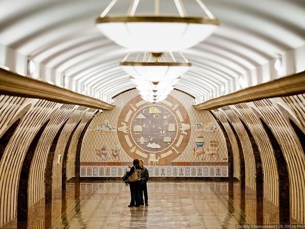 Станция метро «Жибек Жолы»