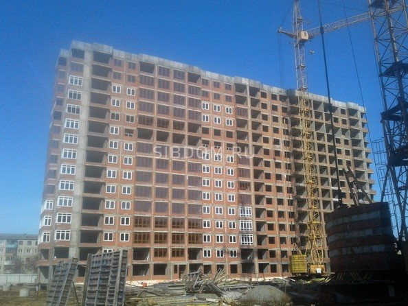 Ход строительства апрель 2020